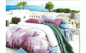Lenjerie pat 2 persoane din Bumbac 100% - multicolor 2500 (4 piese) la doar 159 RON