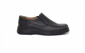 Pantofi cu elastic, pe talpa Epa, din piele naturala, confortabili, flexibili si usori