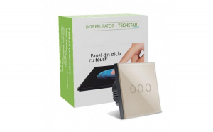 Intrerupator Touch Techstar®  Sticla