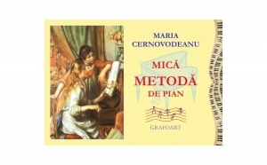 Cernovodeanu - Mica metoda de pian (color), autor Maria Cernovodeanu