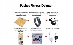 Pachet special accesorii Fitness Deluxe, E-BODA