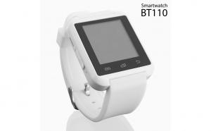 Ceas Inteligent Smartwatch BT110 Alb cu Audio. Va permite sa raspundeti la apelurile telefonice, sa ascultati muzica, sa primiti notificari de pe retele sociale, mesaje SMS, e-mailuri, mesaje WhatsApp. Redus la 159 RON in loc de 200 RON