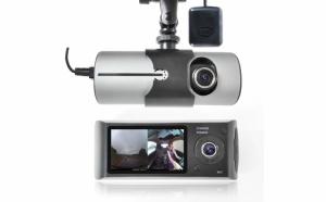 """Camera auto R300 Cu GPS, 3D G-Sensor 2.7"""" TFT LCD X3000 FHD 1080P"""