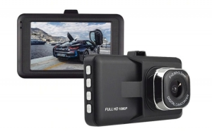 Camera Video Auto Novatek T616, display 3 inch, FullHD, 1080P