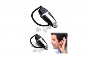 Aparat auditiv Ear Zoom, tip casca Bluetooth, zgomot redus