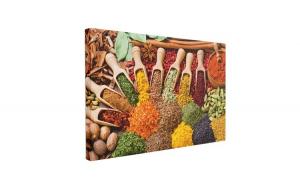 Tablou Canvas Spice & Herbs, 50 x 70 cm, 100% Bumbac