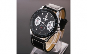 Ceas Winner Casabona Full Automatic - 4 culori (Red, Black, Gold, White), la doar 119 RON in loc de 238 RON
