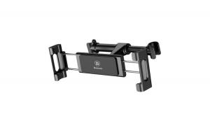 Suport tetiera pentru telefon sau tableta Baseus (negru)