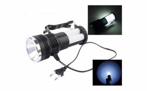 Lanterna moderna care se poate incarca atat de la soare, cat si de la priza