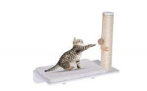 Culcus pisici Alb 55 x 30 x 50 cm