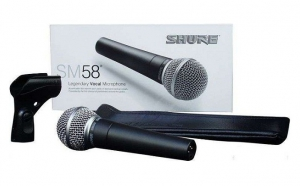 Microfon vocal Shure SM58, Propuneri BF, Gadget Friday