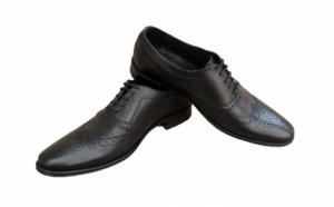 Tinuta ta va fi mai eleganta cu pantofii potriviti: Pantofi de lux, piele naturala, model Baron, Piele naturala exterior si interior!- cod 117N