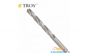 Set de burghiue pentru metal  HSS (O10.0 mm)  5 bucati TROY