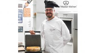 Grill Panini Chef MasterKitchen original