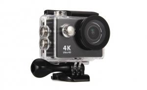 Camera SportUltra HD 4K, telecomanda, imagini LIVE pe telefon si carcasa rezistenta la apa