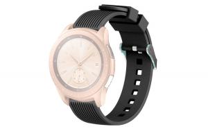 Curea Silicon Premium MTP Black 20mm pentru Samsung Galaxy Watch 42mm