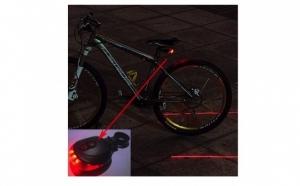 Stop de bicicleta cu 2 lasere si 5 LED-uri