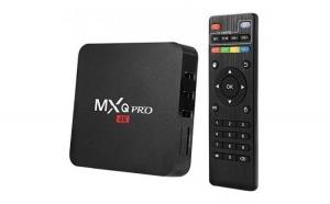 Mini PC Android 7.1 Media Player  TV Box MXQ PRO UltraHD 4K Quad-Core 64 Bit 2GB RAM  16GB ROM Wireless  Ethernet