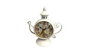 Ceas de masa in forma de ceainic, 20 cm,