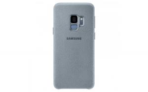 Husa Samsung Alcantara Stylish pentru Samsung Galaxy S9 G960 mint