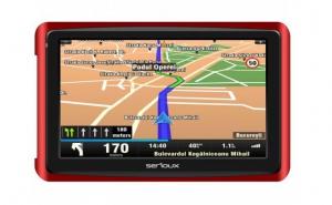 GPS 5 SERIOUX GLOBALTROTTER, 4GB, FM transmitter, ultra-slim, microSD slot, garantie 36 luni, la doar 329 RON in loc de 659 RON
