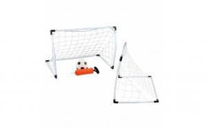 Set porti de Fotbal cu Pompa si minge