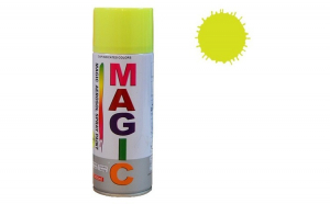 Vopsea spray magic galben fluorescent
