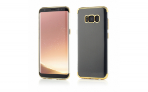 Husa de protectie Vetter Samsung Galaxy S8 Plus G955 Smart Case Shiny Soft Series Auriu