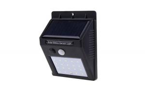 Proiector LED cu panou solar si senzor