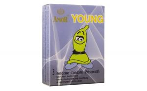 Prezervativ Amor Young, 3 Buc