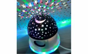Lampa muzicala cu proiectie stele