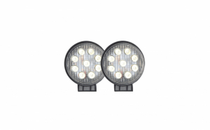 Set 2x Proiectoare Rotunde groase 27W 12-30V