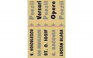 Editii definitive. Set 5 volume , autor Vasile Voiculescu., Ion Minulescu, Stefan Octavian Iosif, George Bacovia, Lucian Blaga