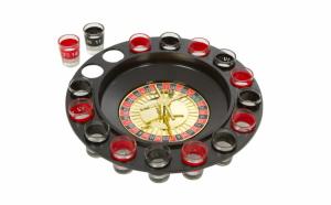 Joc Ruleta cu pahare de shot, 16 pahare