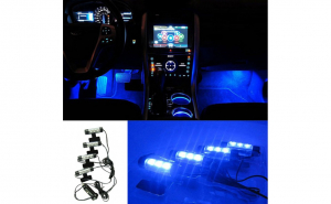 Lumini ambientale auto LED ICE Blue