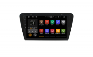 "Navigatie Gps Android Skoda Octavia 3 ( 2013-2018 ) ,Touchscreen 10.1 "" , Android 9.0 , 2GB RAM +16GB ROM , Internet , 4G , Youtube , Waze , Wi Fi , Usb , Bluetooth , Mirrorlink"