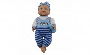 Papusa bebelus bleu 42 cm vorbeste