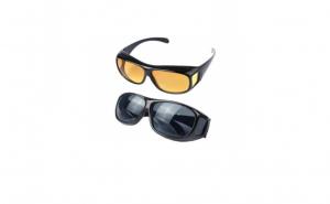 Set 2 perechi de ochelari pentru condus + parasolar HD