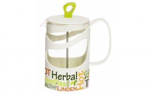 Infuzor din sticla, pentru ceai sau cafea, 1000 ml, Herevin TGR3114