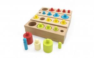 Set cilindrii color invatare dimensiuni