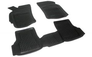 Covoare cauciuc stil tavita Ford Mondeo IV 2007-2014 ( 2D 60403, A10 )