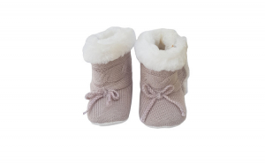 Cizme imblanite tricotate bebe 9352,