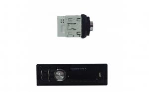 Radio MP3 Player auto Compact, BT si telecomanda, slim 626