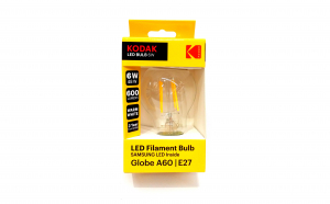 Bec LED Kodak 6W=48W