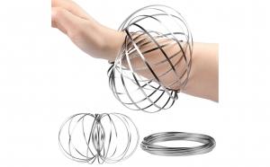 3 x Jucarie Interactiva Magic Ring, Flow Ring, Toroflux, Flippy