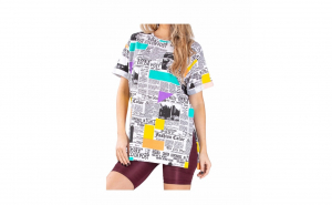 Tricou Dama NewsPaper