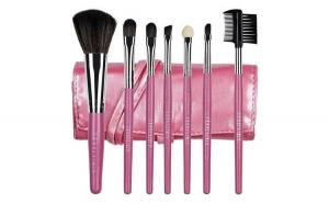 Set 7 pensule machiaj Fraulein Pink