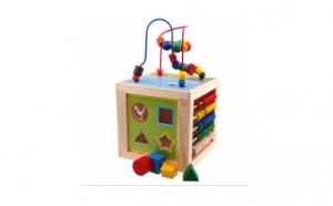 Noul Cub educativ multifunctional, Ziua copilului, Jucarii de lemn