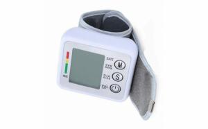 Tensiometru pentru incheietura cu functie de memorare si display LCD