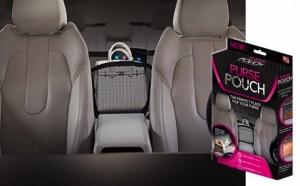 Organizator auto Purse Pouch pentru geanta sau accesorii, la 39 RON in loc de 79 RON! Garantie 12 luni!